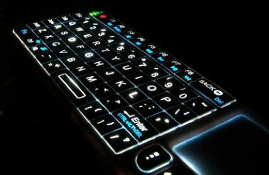 Ня картинки - Беспроводная Клавиатура с Подсветкой - Няшки