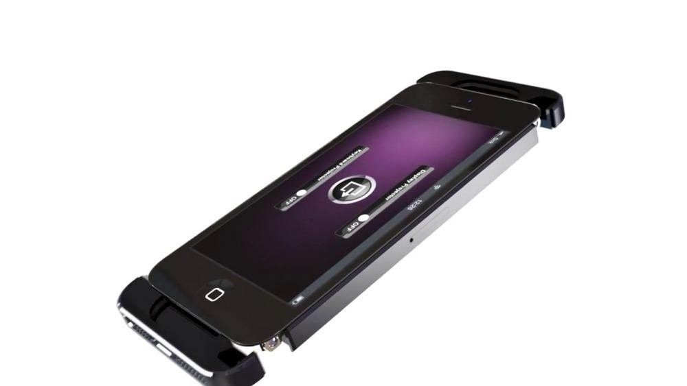 iPhone 5S ar putea arăta așa... sau mai bine zis iPhone 8, cu 4 proiectoare video la pachet (Video)