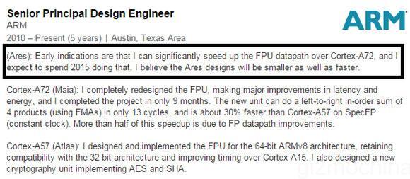 Succesorul core-ului Cortex-A72 va fi bazat pe procesul de producţie de 10 nm