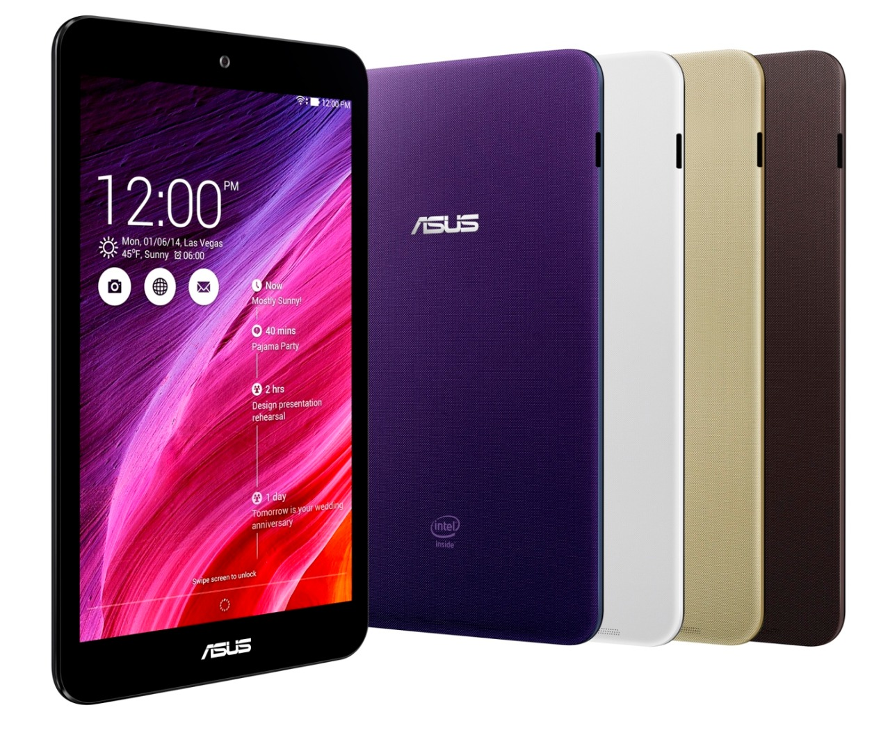 Computex 2014: ASUS lansează noile tablete MeMo Pad 7 și MeMo Pad 8 cu procesoare Intel 64 bit