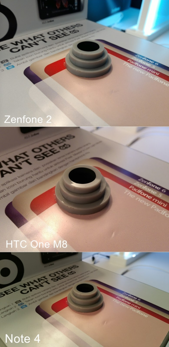 Primele sample-uri foto realizate de camera lui ZenFone 2 ajung pe web; comparative cu HTC One M8 și Galaxy Note 4