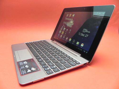 ASUS Transformer Prime, tableta si tastatura