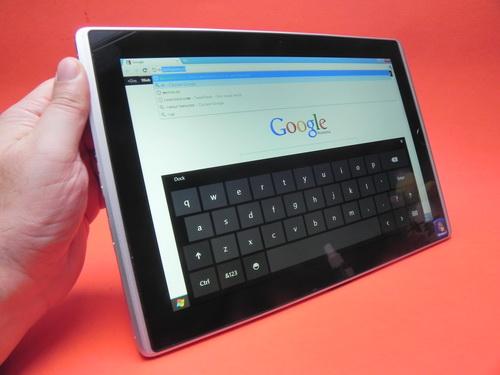 ASUS Eee Slate B121 tastatura virtuala