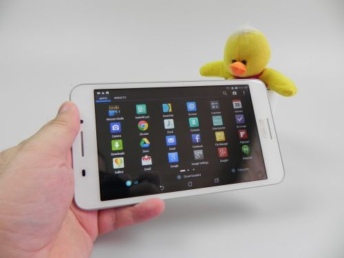 Aplicatiile de pe ASUS FonePad 7 (FE375CG)