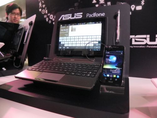 ASUS Padfone tablet & dock
