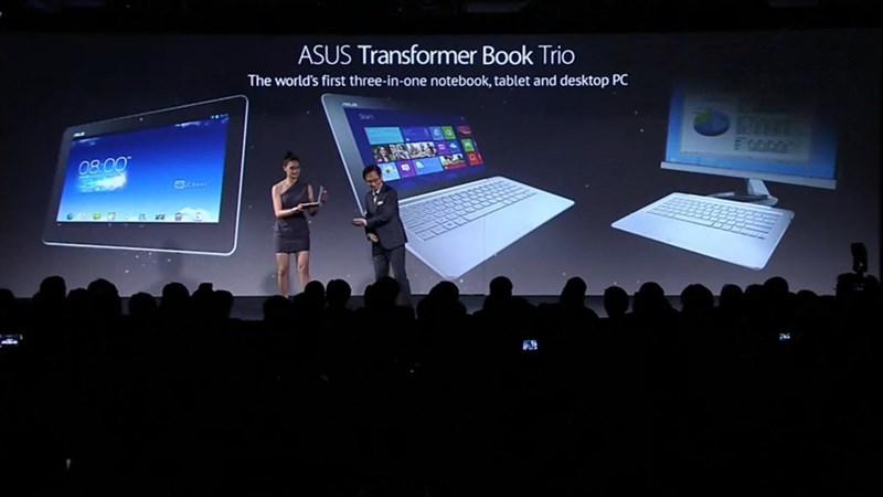 ASUS anunță Transformer Book Trio
