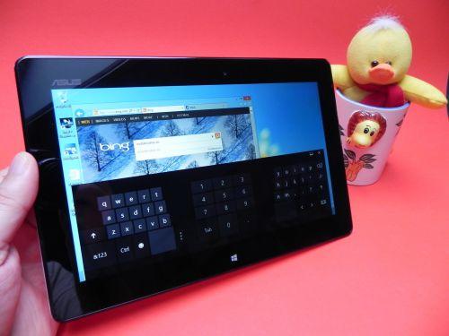 Tastatura virtuala Asus VivoTab Smart