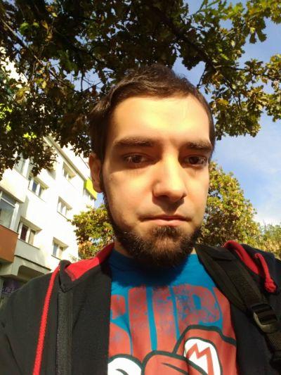Selfie facut cu ASUS ZenFone 2 Laser