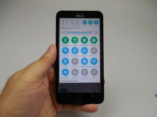 Interfata lui ASUS ZenFone 2