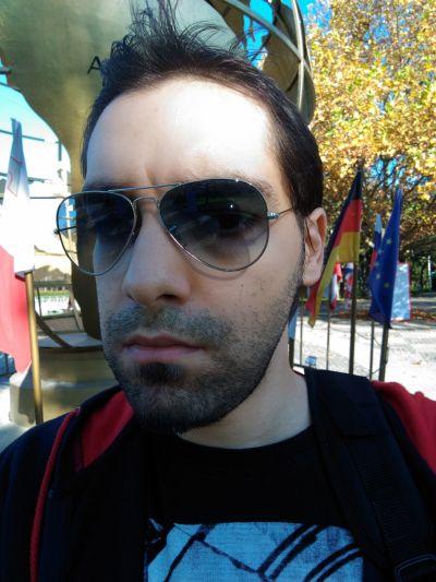 Selfie realizat cu ASUS ZenFone Selfie