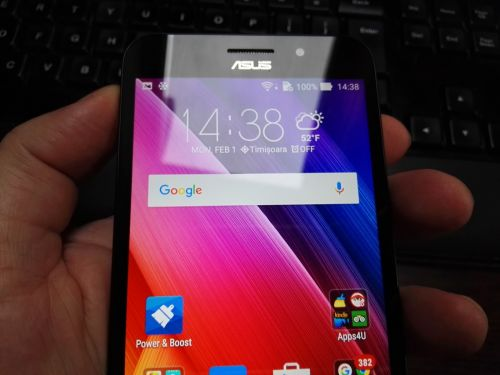 ASUS ZenFone MAX, camera selfie