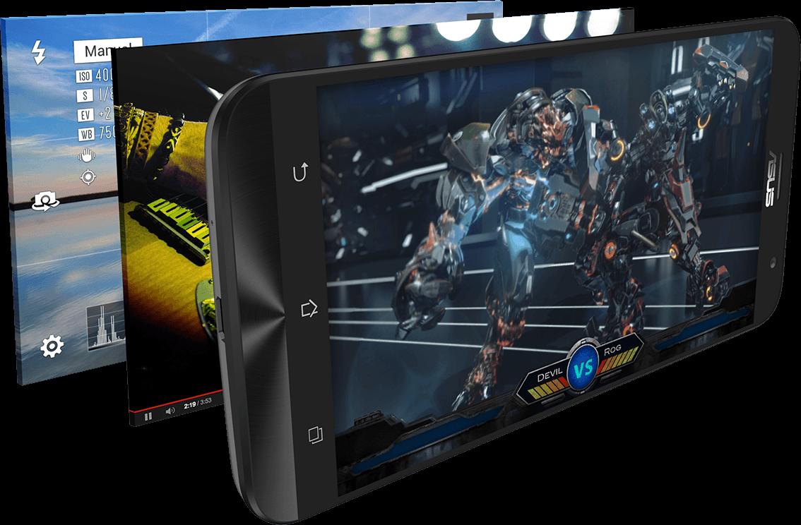 CES 2015: ASUS lansează ZenFone 2, primul telefon cu 4 GB RAM și un design ultra elegant
