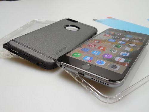 Prezentare huse iPhone 6S Plus Ringke de la Eastcom + Concurs: anti şoc, transparentă şi capace împotriva prafului