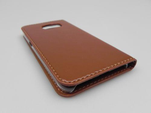 Husa Samsung Galaxy S6 Verus Crayon Diary Book Type Maro