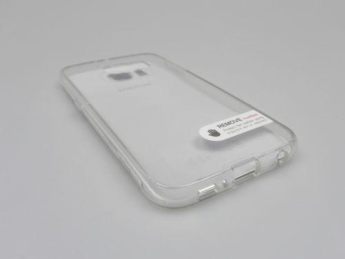 Carcasa Samsung Galaxy S6 Verus Crystal Mixx cu margini din gel moale transparent