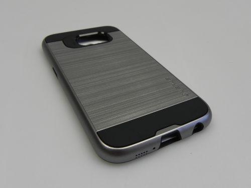 Husa Samsung Galaxy S6 Verus Verge Dark Silver