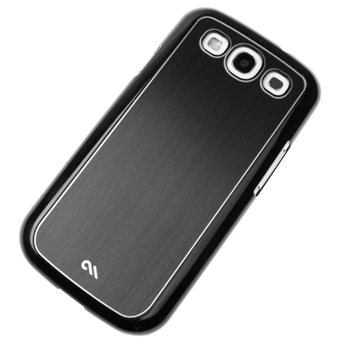 Carcasa ultraslim Samsung Galaxy S3 I9300 - Case Mate Brushed Aluminium