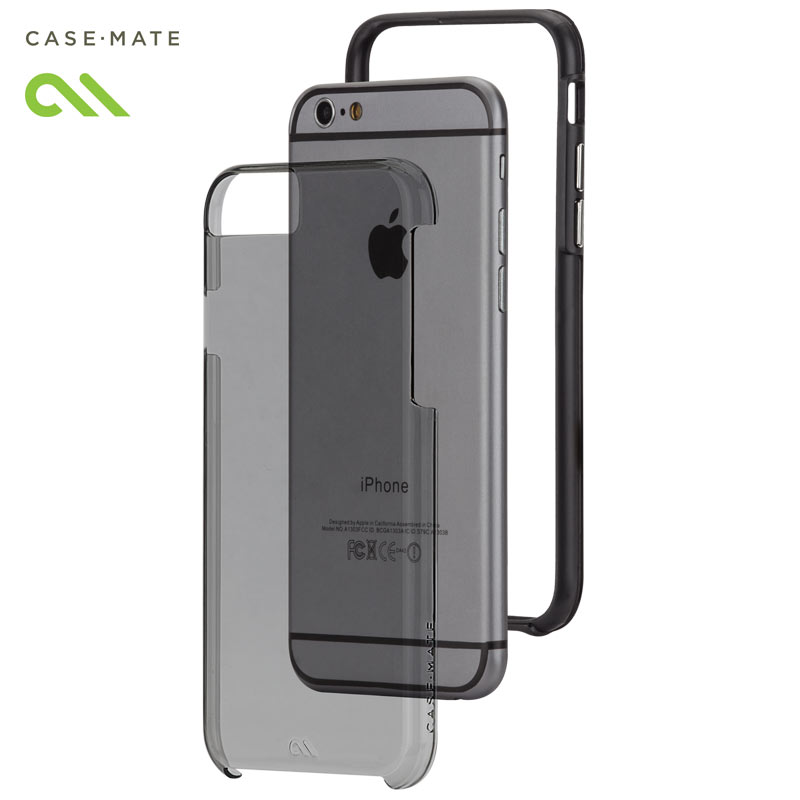 Husa hibridă iPhone 6 4.7 inch - Case Mate Tough Naked Grey
