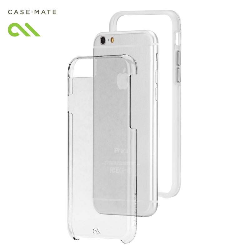 Husa hibridă iPhone 6 4.7 inch - Case Mate Tough Naked Transparent