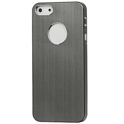 Husa iPhone 5 - Aluminiu Satinat Gri de la CUBZ