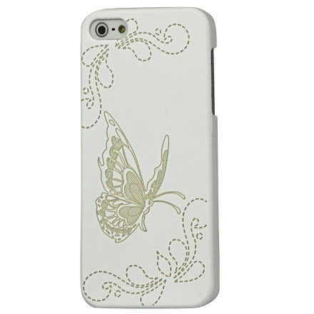 Husa iPhone 5 - Butterfly White de la CUBZ
