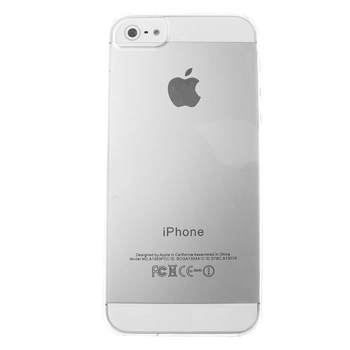 Husa iPhone 5 - Gel TPU transparenta de la CUBZ