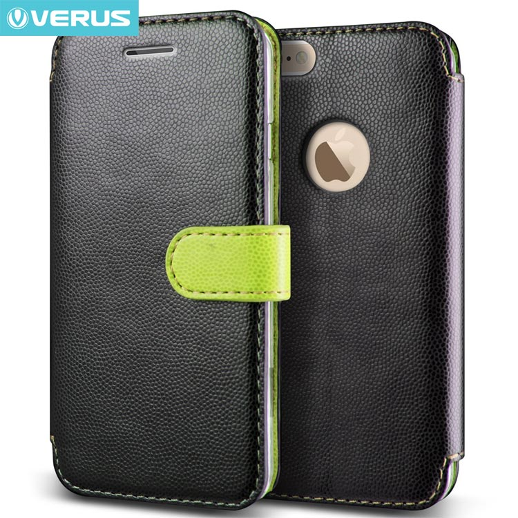 Husa iPhone 6 4.7 inch - Verus Carta Book Type Verde