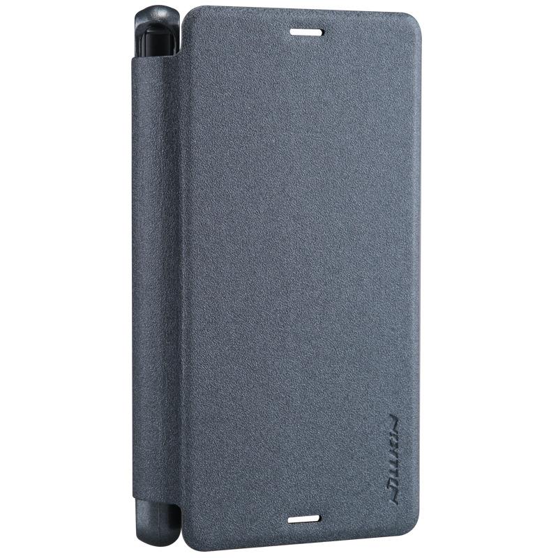 Husa Sony Xperia Z3 Nillkin Sparkle Book (Negru)