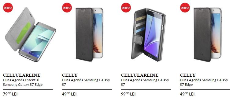QuickMobile listează în ofertă accesorii pentru Samsung Galaxy S7 și S7 Edge