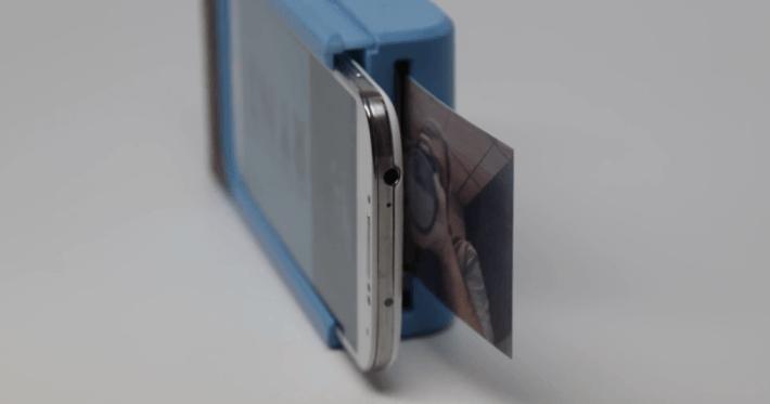 Prynt e un accesoriu pentru telefonul mobil, care Îl transformă În camera Polaroid, care imprima fotografii