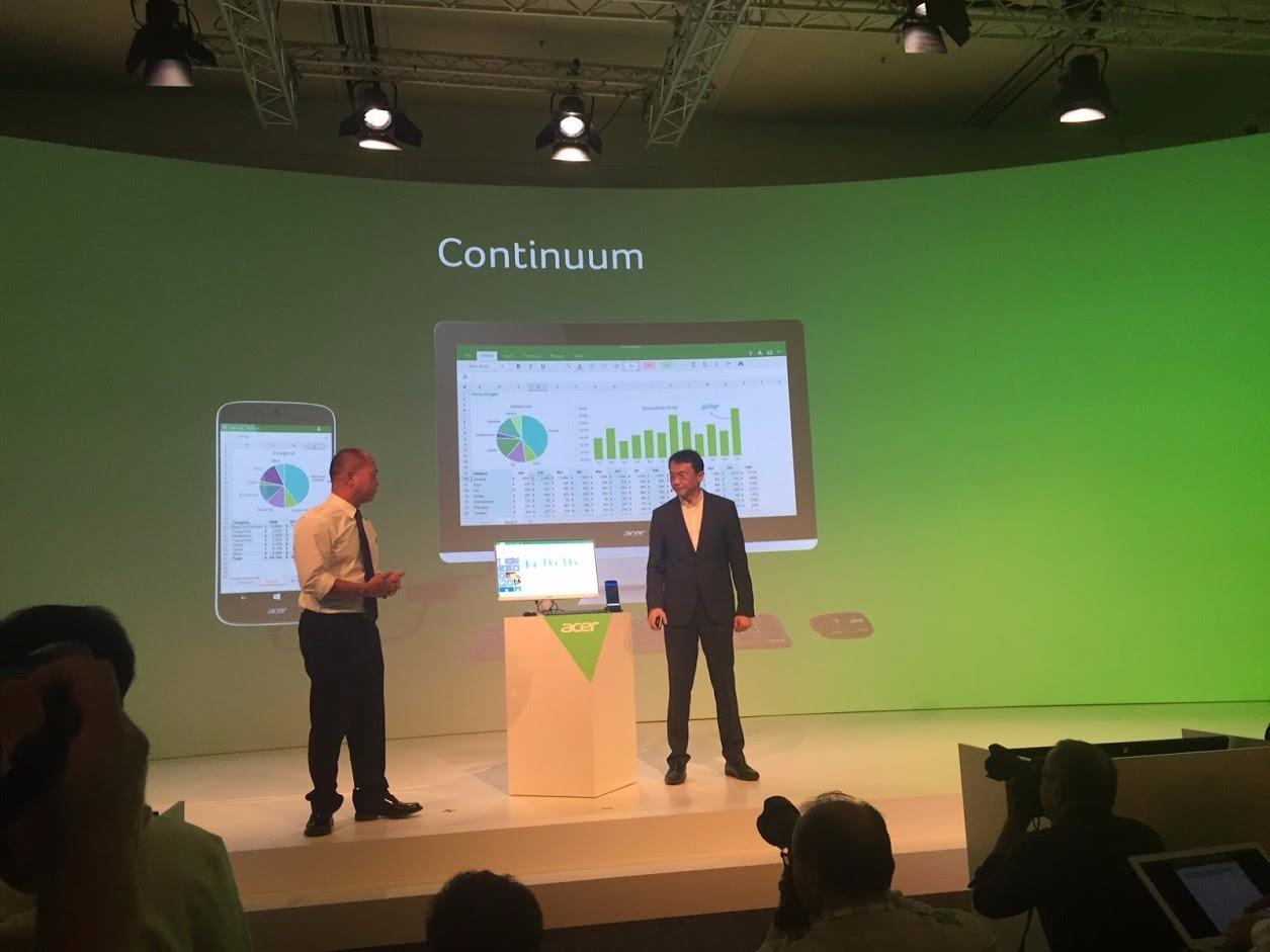 Acer Jade Primo + Continuum