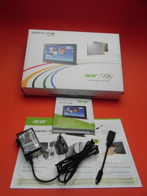 Acer Iconia Tab A510 Olympic Edition scos din cutie