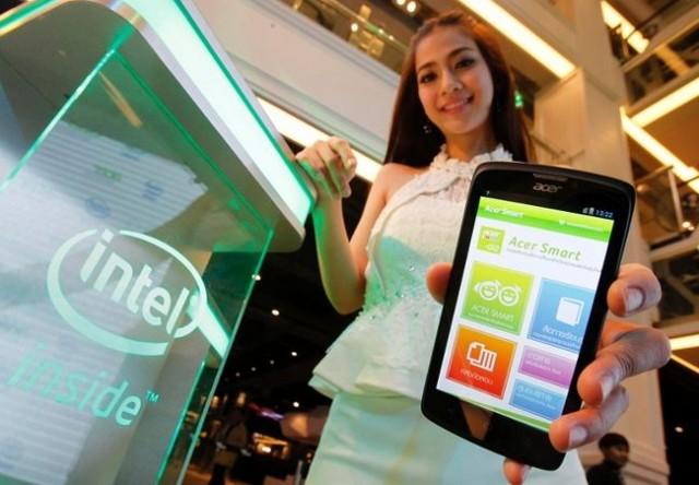 Intel și Acer anunță telefonul Liquid C1, bazat pe procesor Intel Atom