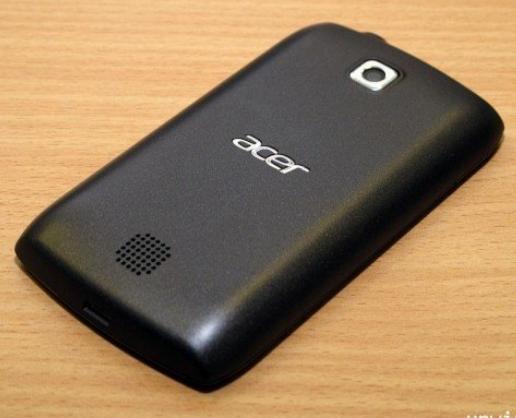Telefon Acer Z110 spate