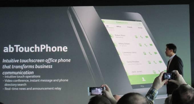 Acer abTouchPhone e un prototip de telefon de birou cu tableta integrată