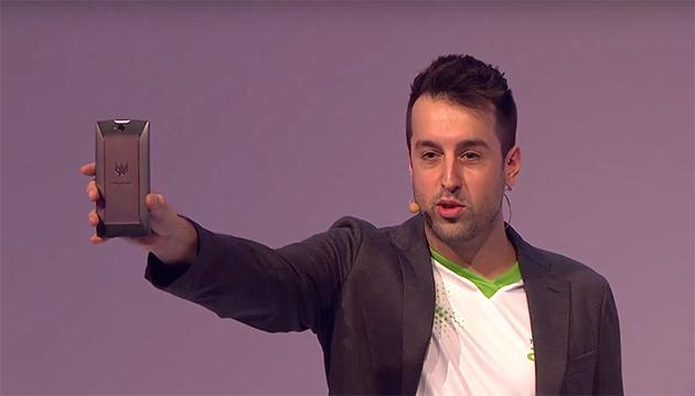 IFA 2015: Acer Predator 6 este un telefon de gaming cu procesor deca-core şi design agresiv