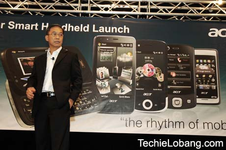 Acer prezinta noi smartphone-uri