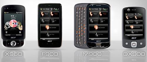 Acer prezinta oficial smartphone-urile din seria Tempo: X960, F900, M900 si DX900