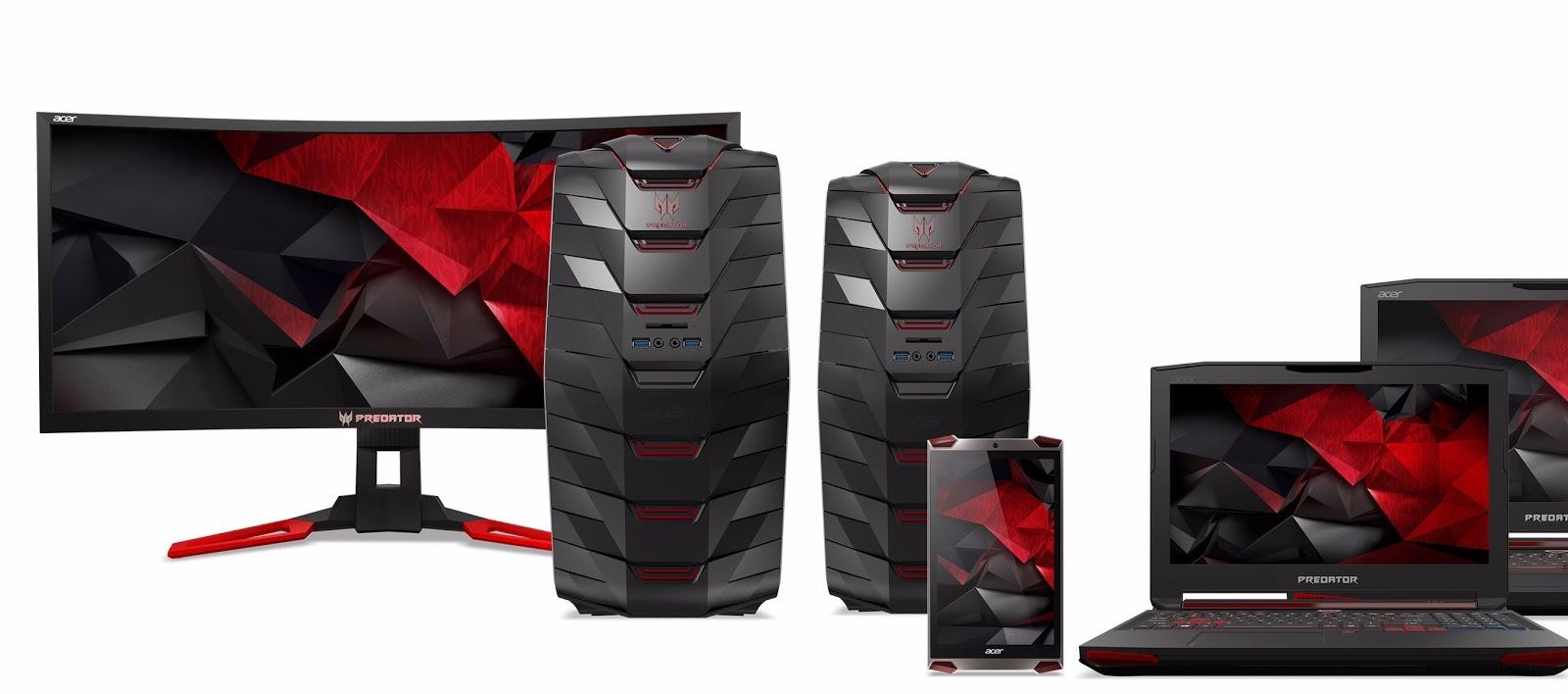 Acer îşi lansează gama de produse Acer Predator pe 3 decembrie, inclusiv tableta de gaming Predator 8
