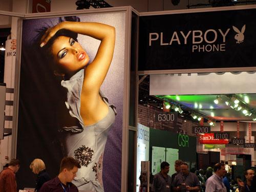 CTIA Wireless 2008: Alcatel prezinta telefonul Playboy