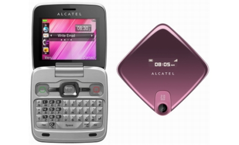 Alcatel OT-808, telefon entry level cu look de netbook