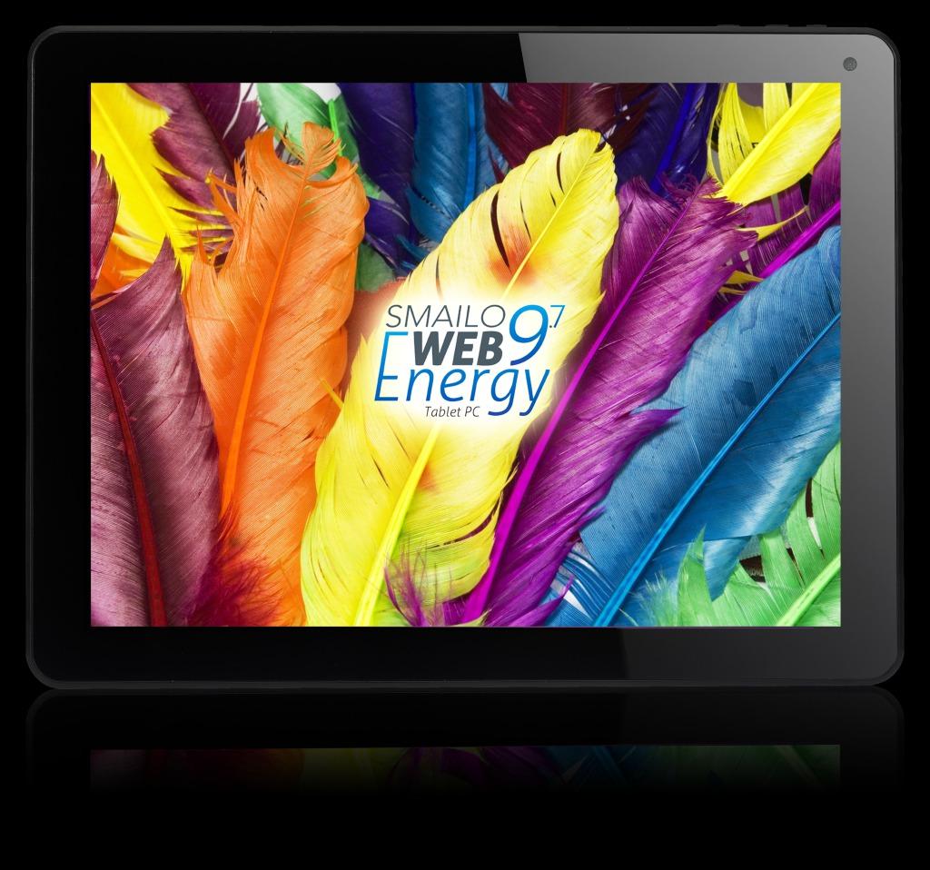 AROBS Transilvania anunța lansarea a două noi tablete Smailo: Web Energy 8 și Web Energy 9.7