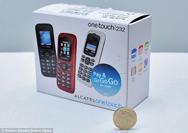 Alcatel lansează cel mai ieftin telefon din lume: Alcatel 1010 costă 5.91 euro