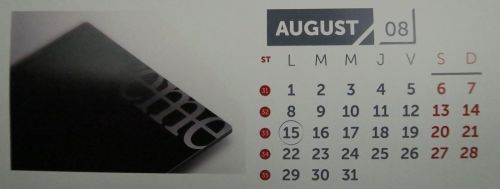 August: Xtreme şi foarte subţire