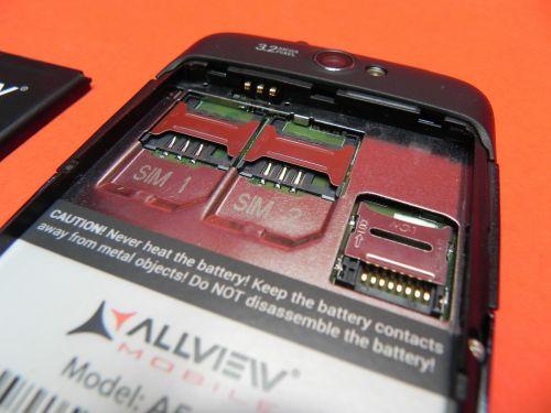 Allview A5 Duo Dual SIM si slot microSD