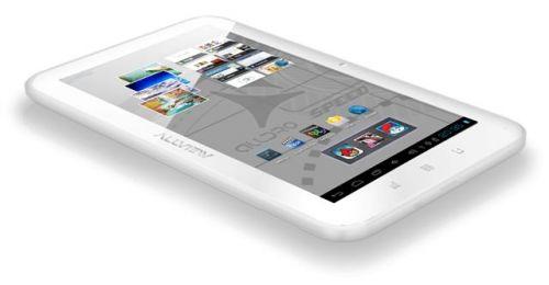 Tableta Allview AllDro Speed, acum și pe alb, cu sistem de operare Android 4.0 ICS