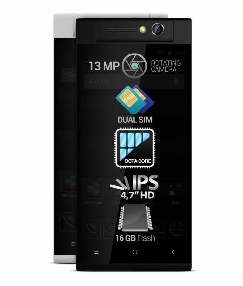 Allview lansează smartphone-ul octa-core P7 Xtreme; acesta vine cu o cameră foto rotativă de 13 megapixeli