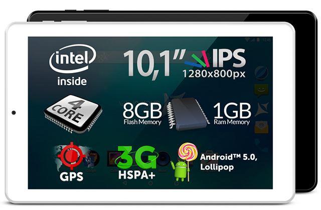 Allview anunţă lansarea tabletei Viva i10HD, tableta de 10 inch cu procesor Intel Atom şi 3G