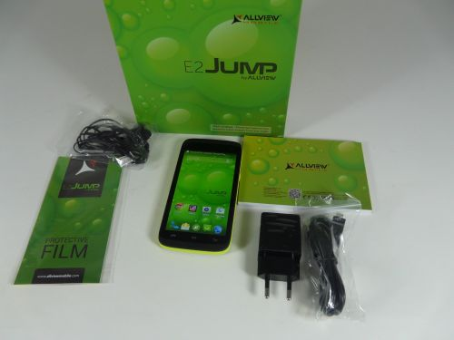 Allview E2 Jump unboxing