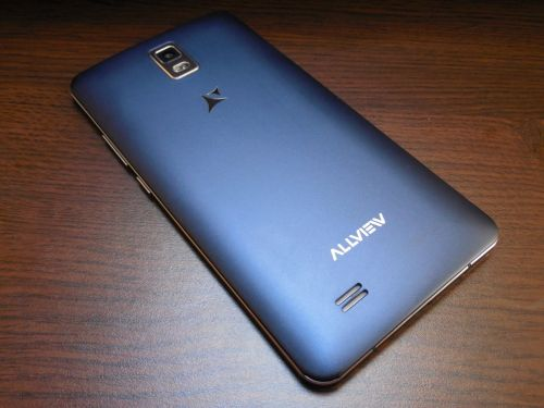 Allview P6 Qmax - spatele telefonului